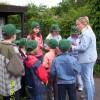Erkundung des Öko-Lehrpfades 5.Juni 2006