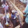 Neubau der Trinkwasseranlage 1995-1996